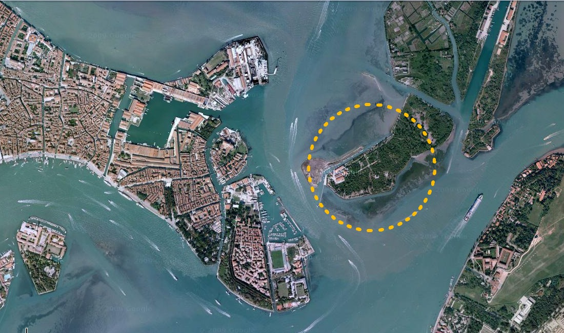 How to find Venice Kayak - Sestiere Castello and the Certosa island