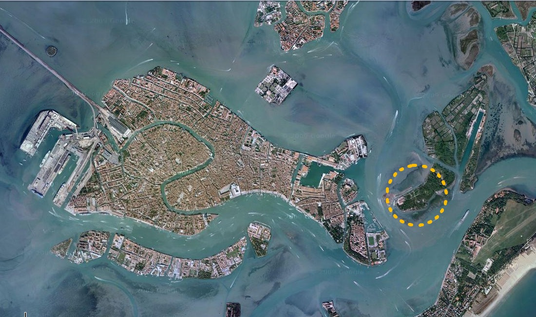 How to find Venice Kayak - Venice and the Certosa island