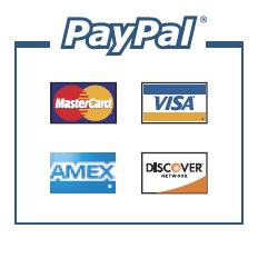 Paypal accepted credit cards