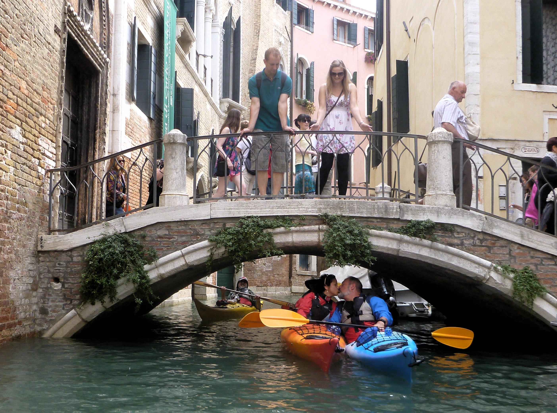 Press Photos 2014 Couples Venice Kayak
