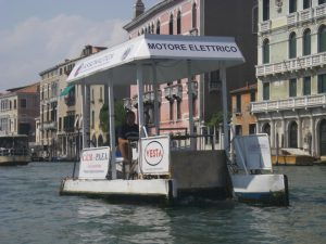 Canal Boat Cleaner Venice