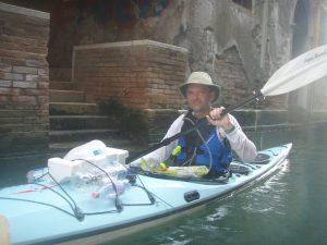 Plastic in Venice Canals